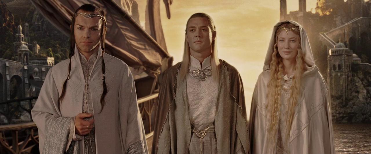 Elfi - Elrond Celeborn e Galadriel