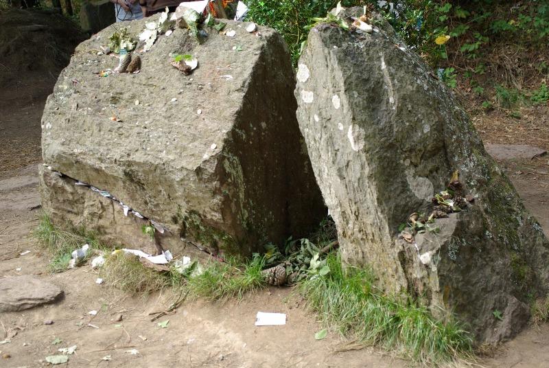 La tomba di Merlino - Broceliande