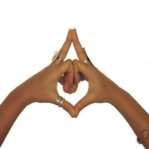 Kaleshvara Mudra Questo sigillo è dedicato alla divinità che governa il tempo e serve a calmare l'ansia e gli stati di agitazione. Aiuta a trovare calma e concentrazione: ottimo in u