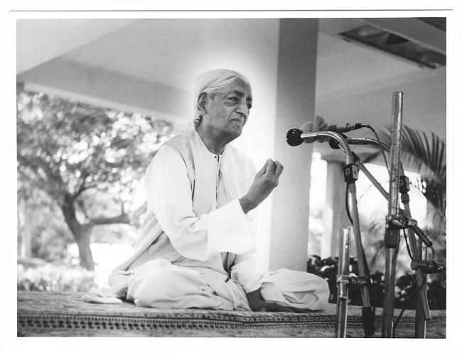Sulla Credenza – Jiddu Krishnamurti