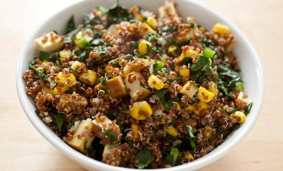insalata tofu quinoa
