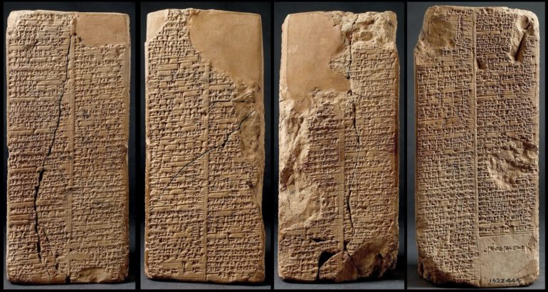 the sumerian tablets the anunnaki
