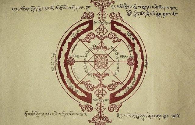 Tibetan symbol of Agharta or inner earth 640x450