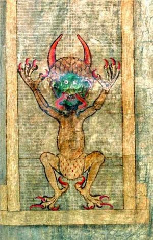 codex gigas bibbia del diavolo miniatura