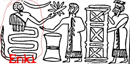 enki-sumeri-serpente-rettile