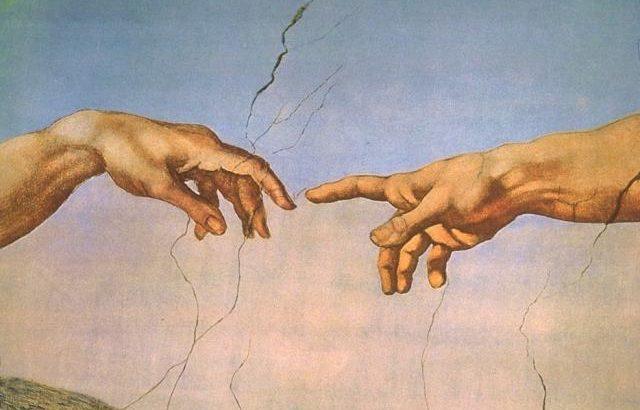 genesi creazione di adamo dita preview