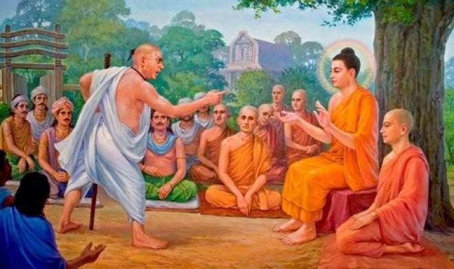 buddha spit