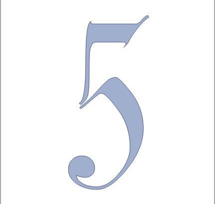 cinque 5