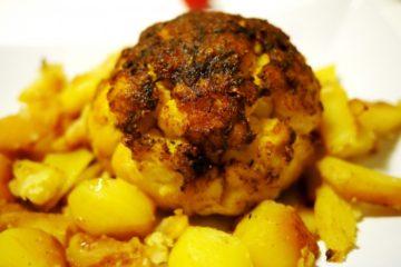 Cavolfiore Arrostito al Forno con Patate – Tony's Happy Kitchen