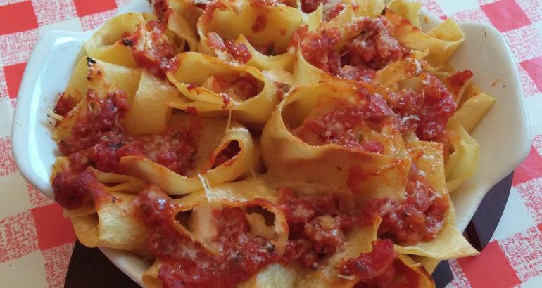 Boccioli di pasta fresca