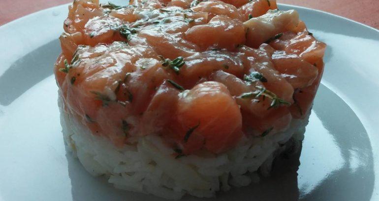 tartare salmone salani