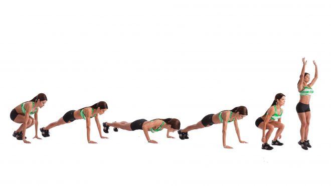 Burpees – il facilissimo esercizio fisico che odierai amare.1