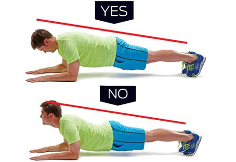 Un importante esercizio per prevenire gli infortuni il plank5