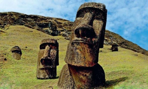 I Moai dellIsola di Pasqua hanno il corpo 1