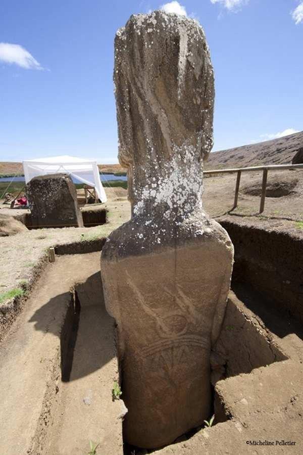 I Moai dell'Isola di Pasqua hanno il corpo-4