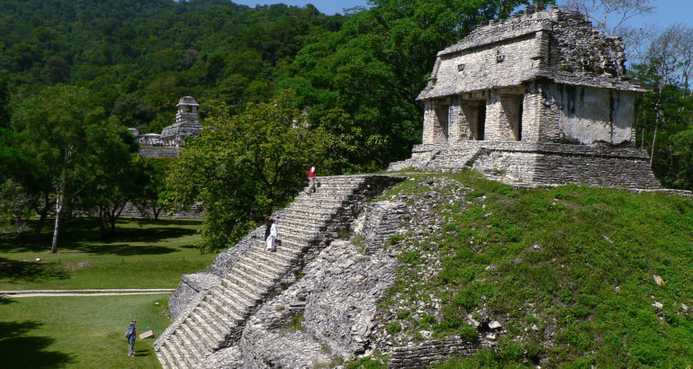 Mexico palenque temple of the Count