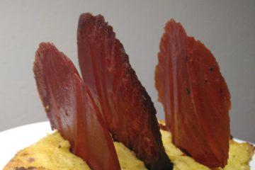 Cavolfiore con Cialde di Pomodoro