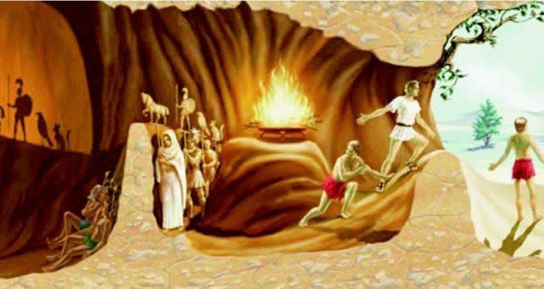 il mito della caverna e1485982854367