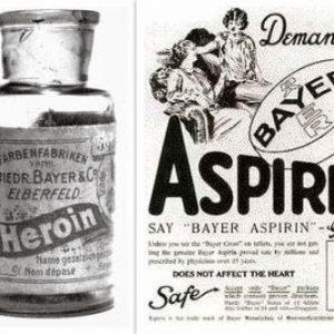 bayer - eroina - aspirina