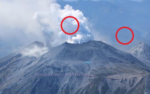 2 ottobre ufo su vulcano Ontake1