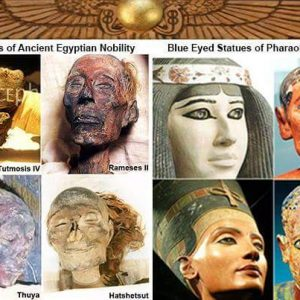 egyptian icon blue eyes