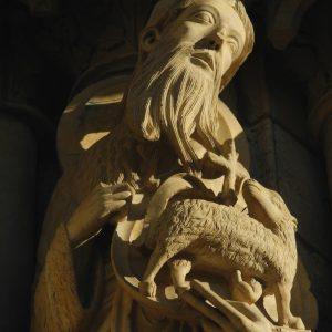 Giovanni il Battista, dalla Cattedrale di Chartres.