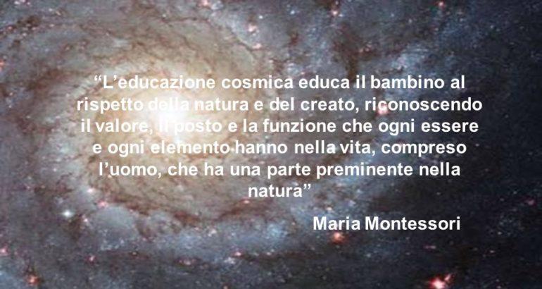 L'educazione cosmica