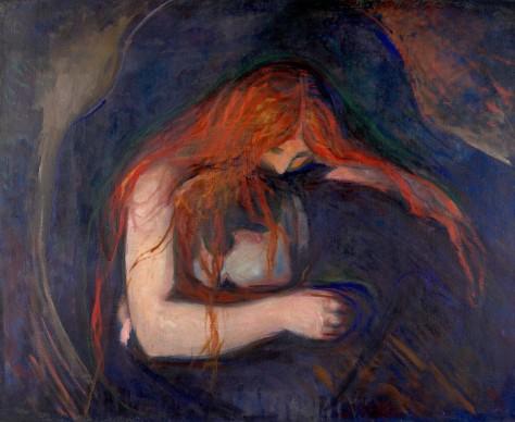 Edvard Munch Vampiro 1895