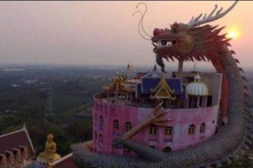 Il Meraviglioso Tempio del Drago Wat Samphran