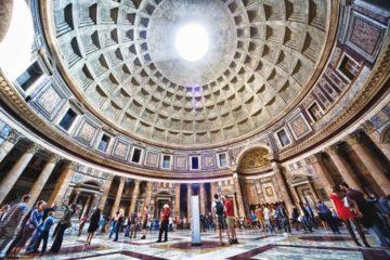 Il Pantheon di Roma, occhio del cielo