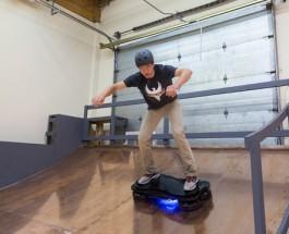 Skateboard volante come Ritorno al Futuro?