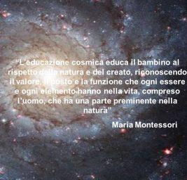 Spiritualità ed Educazione Cosmica nel Pensiero di Maria Montessori