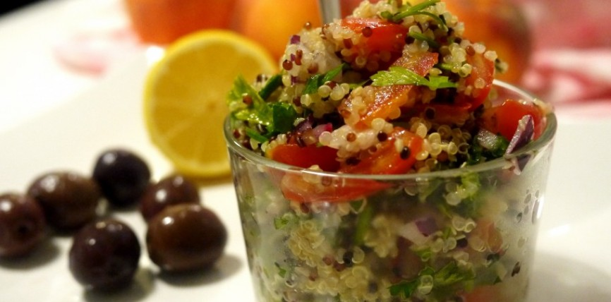 Insalata Tabulè di Quinoa – Tony's Happy Kitchen