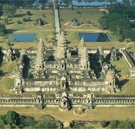 La Costellazione del Drago riprodotta ad Angkor