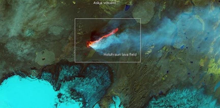 Eruzione del Vulcano Holuhraun: emissioni di Diossido di Zolfo rischiose per la salute e il clima