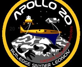 Apollo 20, trovata l'Astronave Aliena sul Delporte Crater grazie a Google Earth-Moon Map