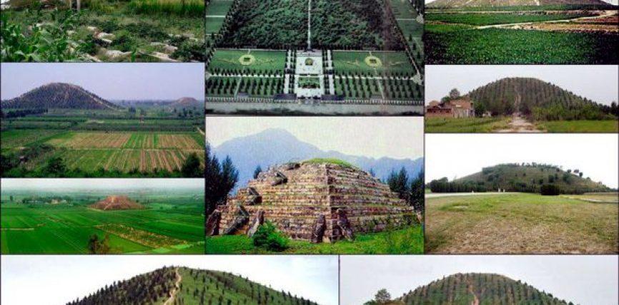 Le Piramidi Cinesi e le Leggende sugli Dei discesi dal Cielo. Tracce di Antichi Astronauti e di Civiltà Antidiluviane?