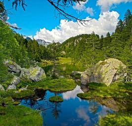 Lago delle Streghe dell'Alpe Devero