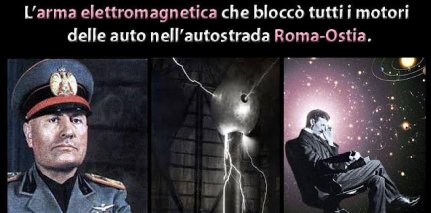 """Quando Mussolini testò il """"Raggio della Morte"""" di Guglielmo Marconi (con video) [R]"""