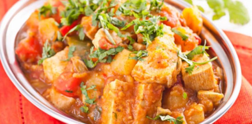 Tofu Saltato con Verdure all'Arancia